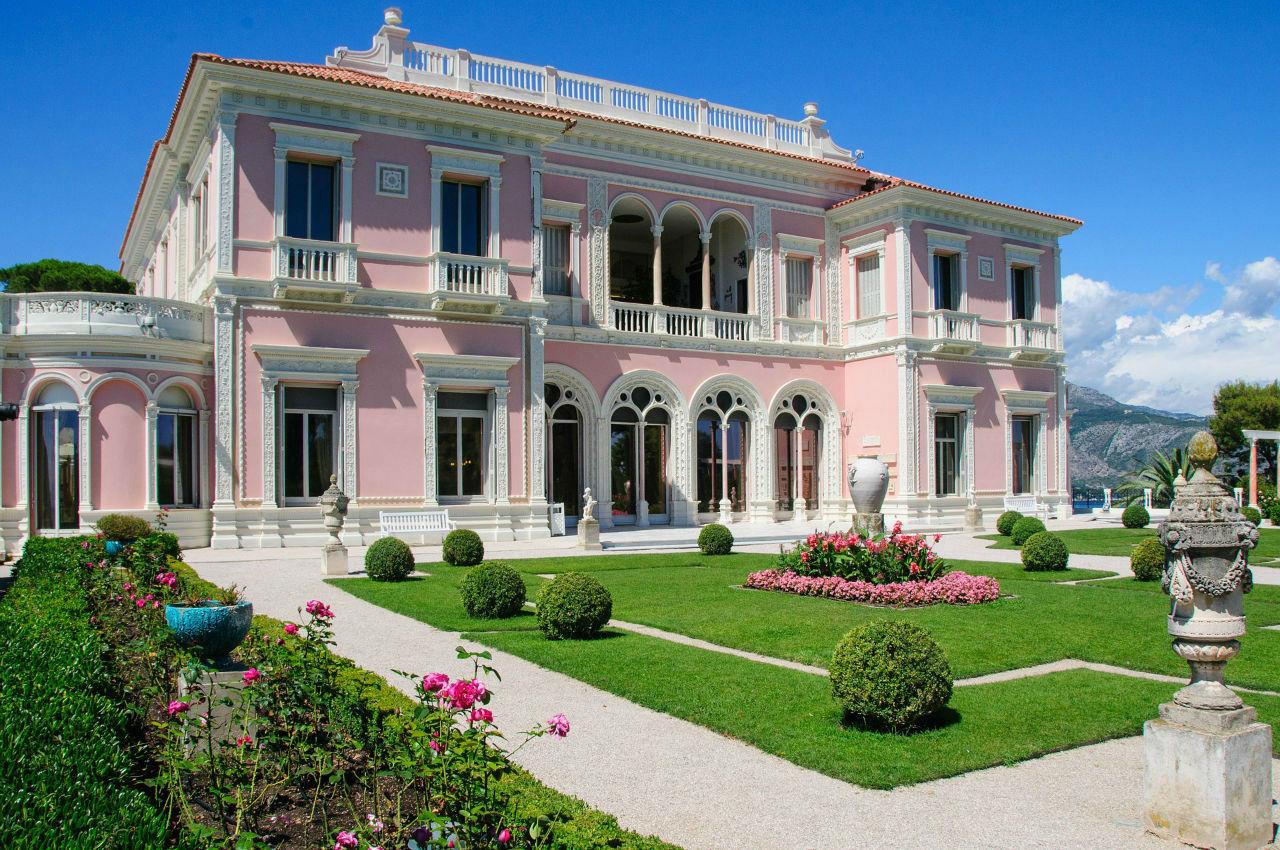 villa luxe saint jean cap ferrat